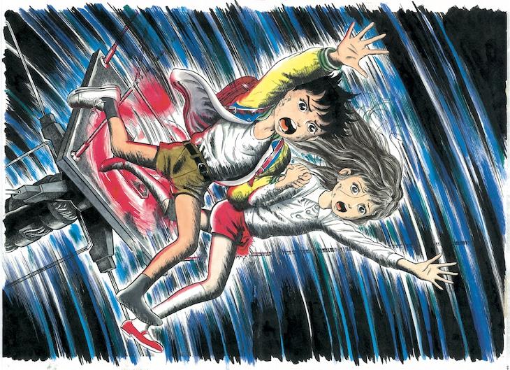 「わたしは真悟」イラスト。 (c)Kazuo Umezz, Shogakukan