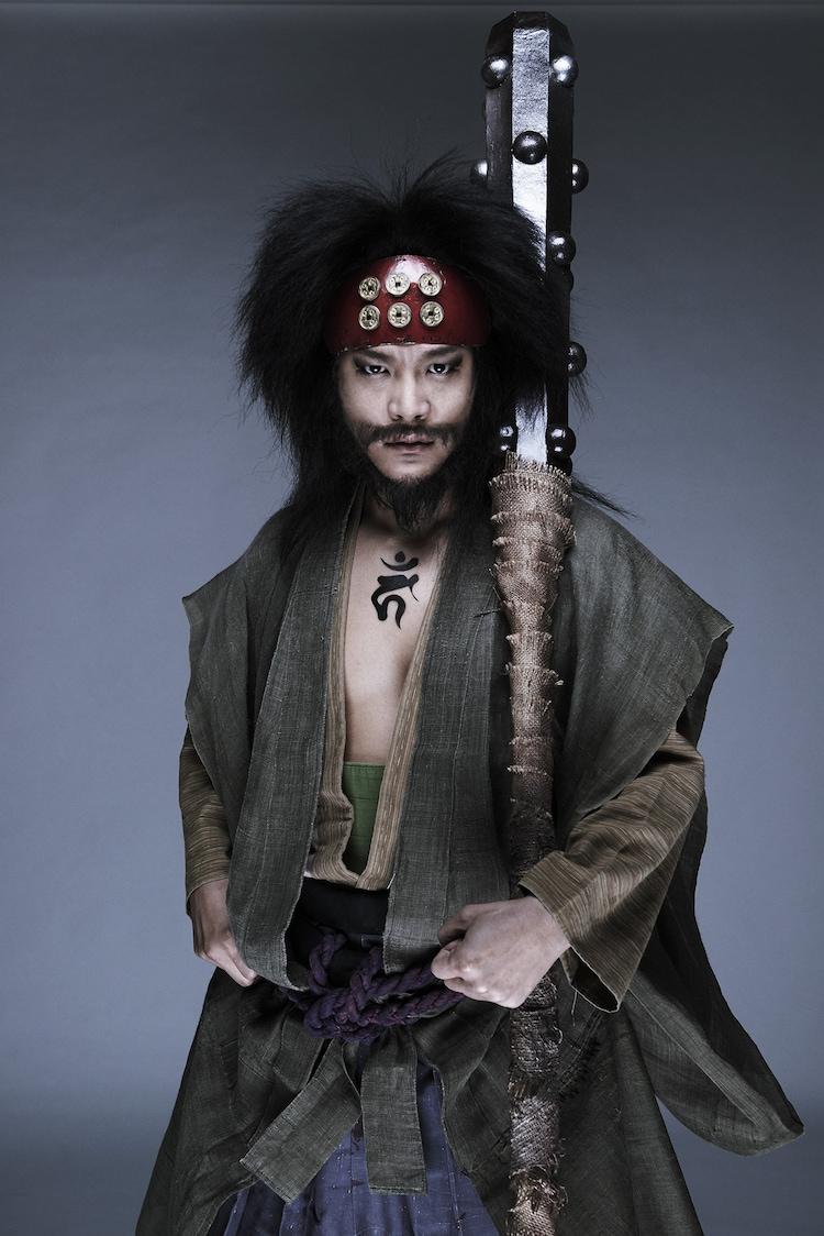駿河太郎演じる三好清海。