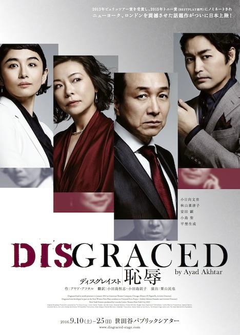 「DISGRACED/ディスグレイスト -恥辱-」最新ビジュアル