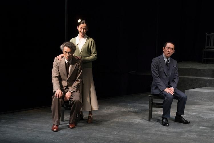 白熱の台詞劇「コペンハーゲン」明日から、宮沢りえ「人間の業や孤独を感じて」|ステージナタリー