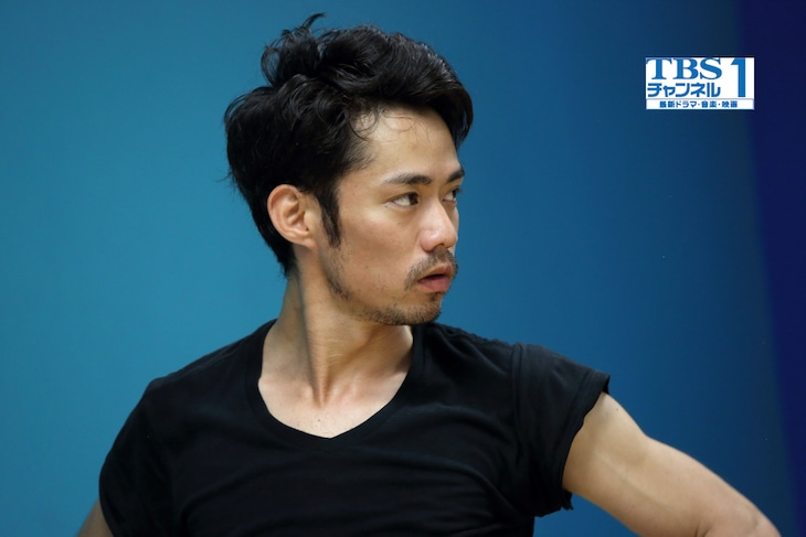TBSチャンネル1「高橋大輔 in LA~舞台直前リハーサル独占密着!ダンスへの新たな挑戦~」より。