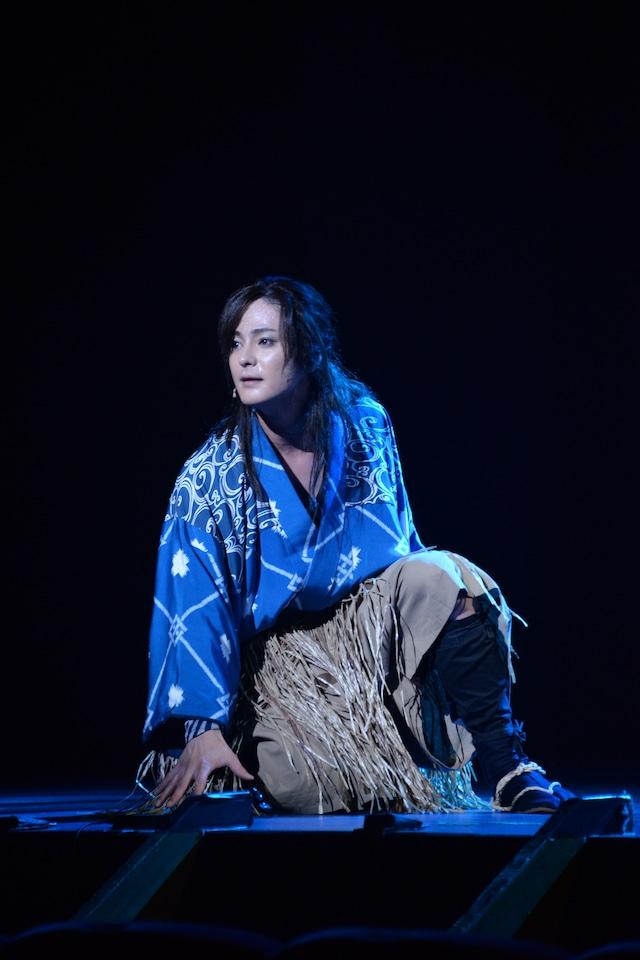 木村了演じる浦島太郎。