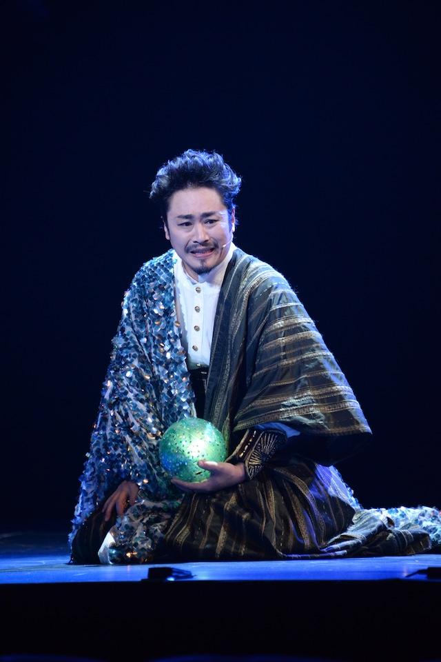 坂元健児演じる竜王。
