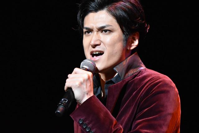 ミュージカル「ロミオ&ジュリエット」制作発表より。渡辺大輔。