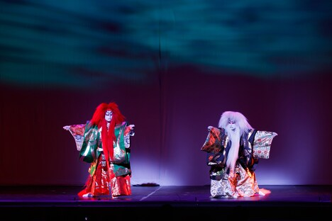 「SAKURA -JAPAN IN THE BOX-」 公演の様子。