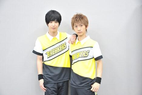 左から本田礼生、古田一紀。