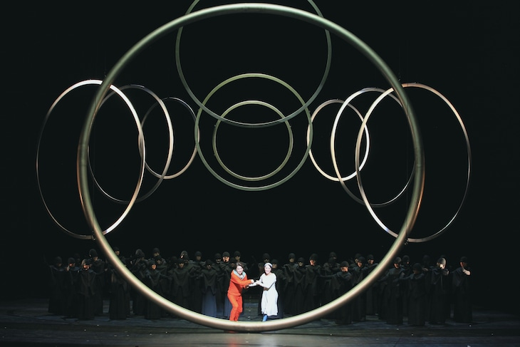 あいちトリエンナーレ2016プロデュースオペラ「魔笛」(撮影:小熊栄)