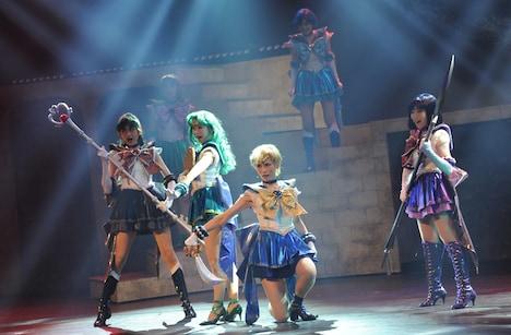 ミュージカル「『美少女戦士セーラームーン』-Amour Eternal-」ゲネプロの様子。