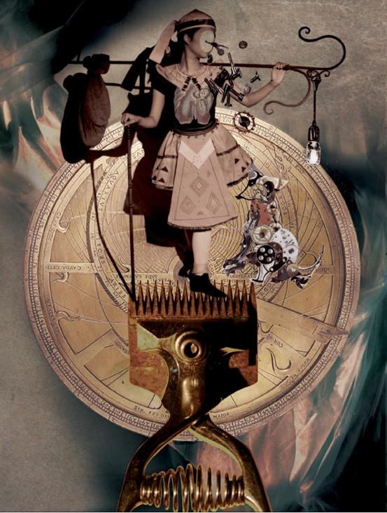 演劇実験室◎万有引力◎第63回本公演「大反復劇ーあるいは戯作者式イマジ音楽劇『愚者たちの機械学』~劇は各自お持ち帰り下さい~」ビジュアル