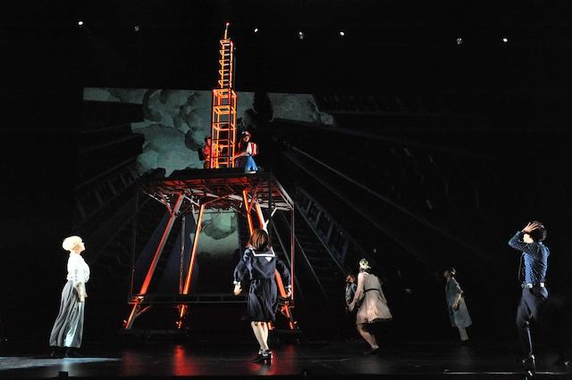 ミュージカル「わたしは真悟」公開ゲネプロより。
