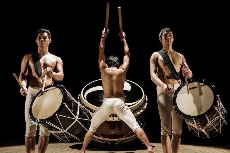 太鼓芸能集団 鼓童(写真:岡本隆史)
