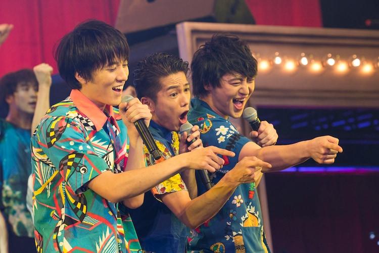 左から松島庄汰、吉村卓也、伊藤直人。
