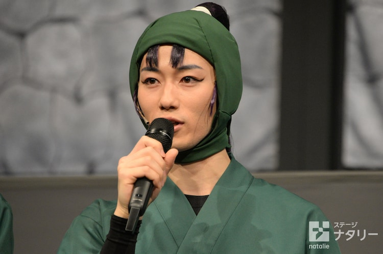 立花仙蔵役の北村健人。