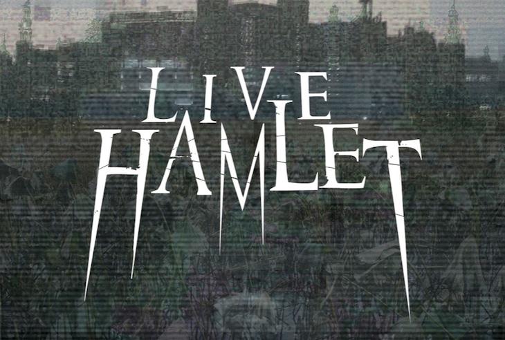 「LIVE HAMLET」ビジュアル