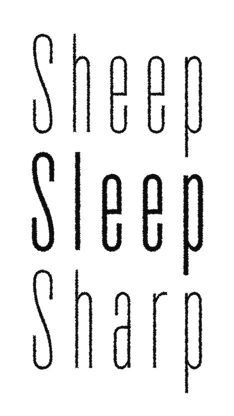 マームとジプシー「sheep sleep sharp」ビジュアル