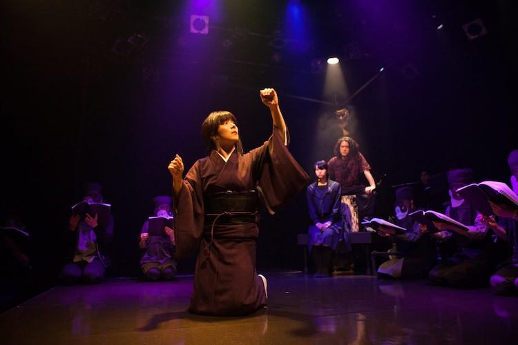 2016年5月上演「江戸系 諏訪御寮」より。