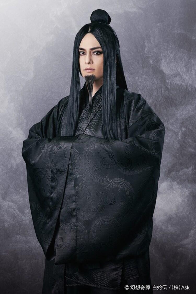 伊阪達也演じる黒風仙(コクフウセン)。