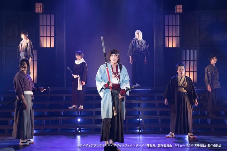 「ミュージカル『薄桜鬼』原田左之助 篇」東京公演ゲネプロより。