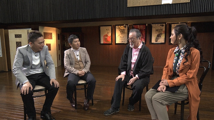 「『探検バクモン』仲代達矢84歳・演じる、育てる、遺す in 無名塾」より。(写真提供:NHK)