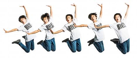 ミュージカル「ビリー・エリオット~リトル・ダンサー~」ビリー役の5人。