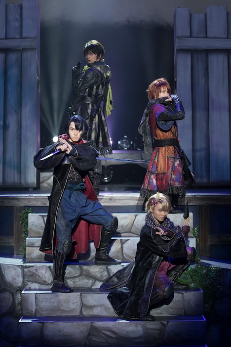 劇団シャイニング from うたの☆プリンスさまっ♪「天下無敵の忍び道」ゲネプロより。