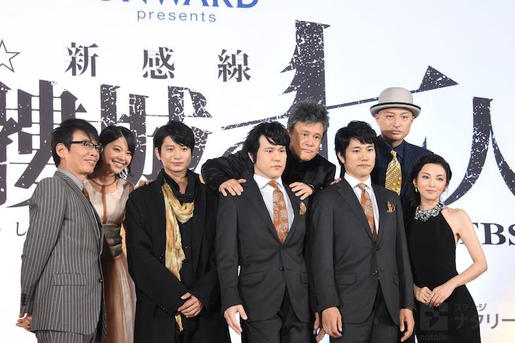 劇団☆新感線「『髑髏城の七人』Season風」製作発表記者会見より。
