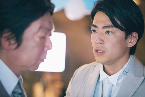 えのもとぐりむ脚本、関和亮監督「父親になりすます男」より。大東駿介(右)。