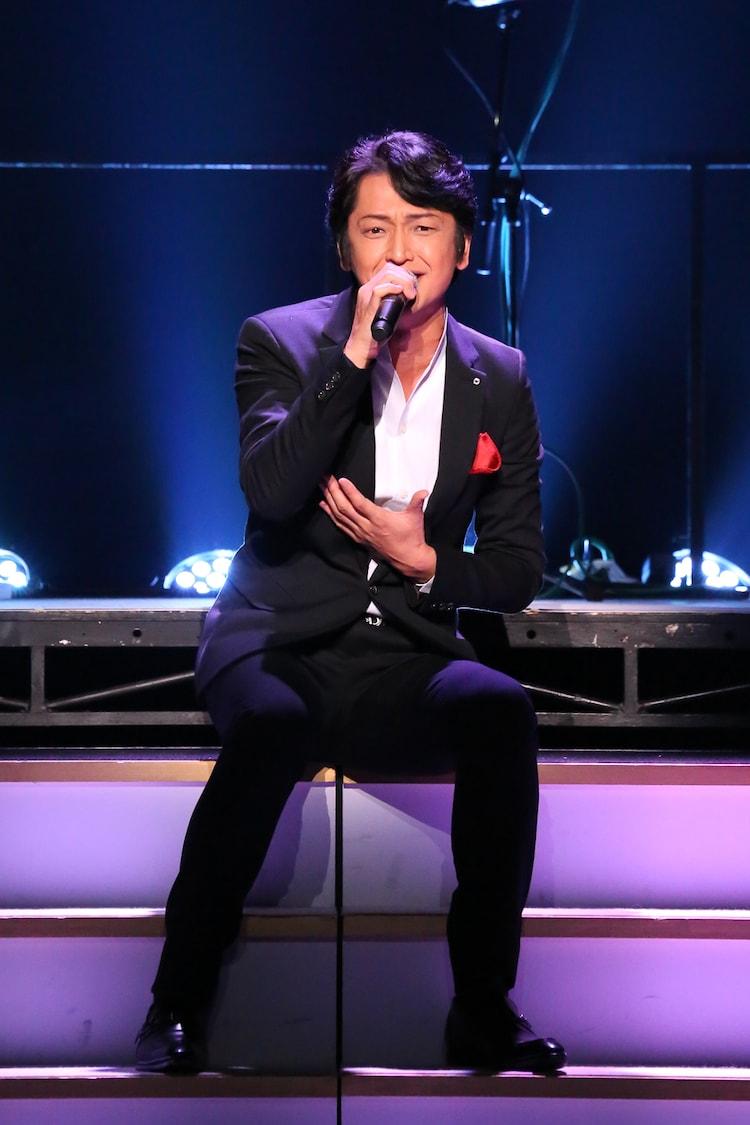 「I Love Musical」より、岡田浩暉。(撮影:宮川舞子)