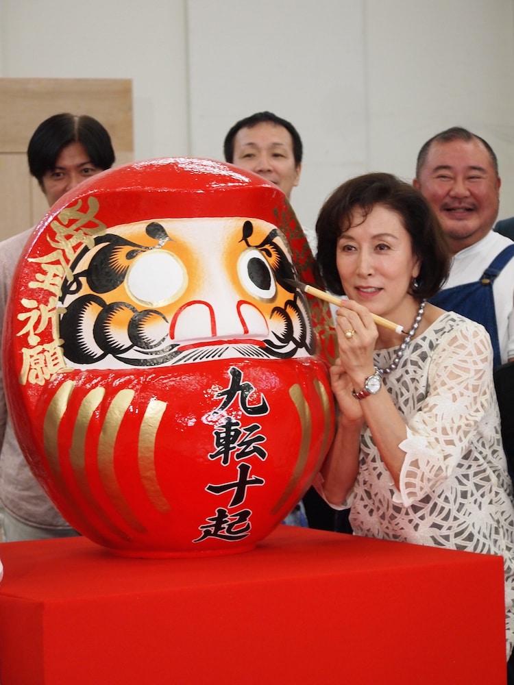 「土佐堀川 近代ニッポン―女性を花咲かせた女 広岡浅子の生涯」顔寄せより。