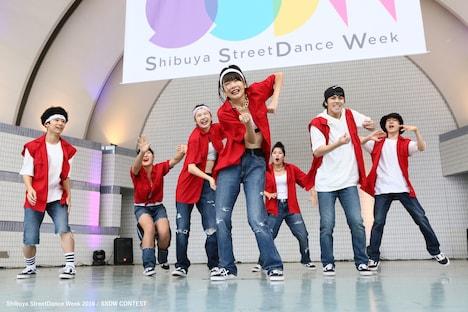 過去の「Shibuya StreetDance Week」の様子。