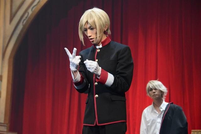 「王室教師ハイネ-THE MUSICAL-」ゲネプロより、廣瀬大介演じるレオンハルト。