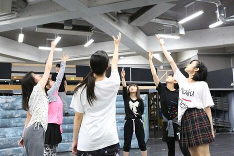 「『少女☆歌劇 レヴュー・スタァライト―The LIVE―』#1」公開稽古より。