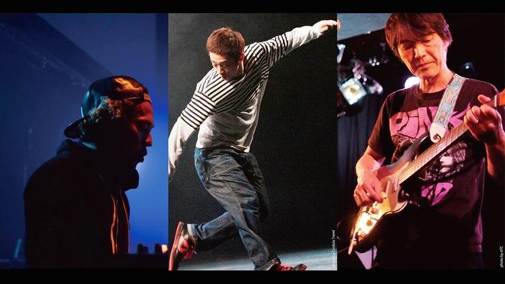 北九州芸術劇場ダンスダイブウィーク2017 即興公演「ダンスと音楽、その瞬間・宇宙」ビジュアル