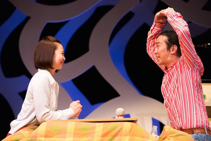 木ノ下歌舞伎「心中天の網島ー2017リクリエーション版ー」より。(撮影:松見拓也)