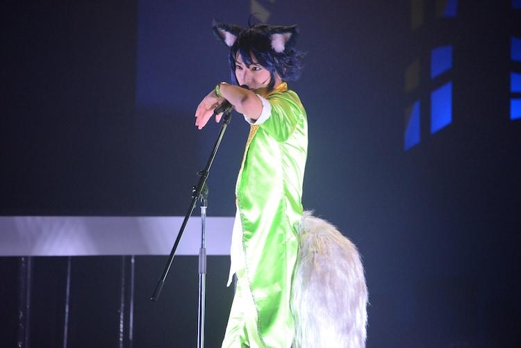 木原瑠生演じるカイ。