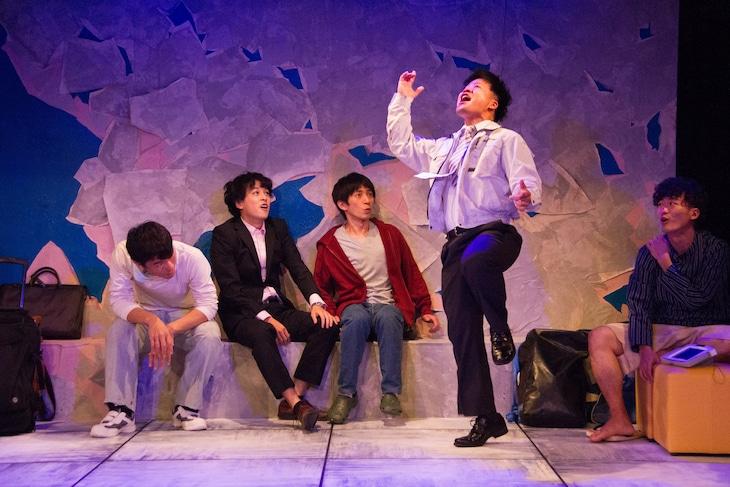 ゴジゲン 第14回公演「くれなずめ」より。(撮影:村田麻由美)