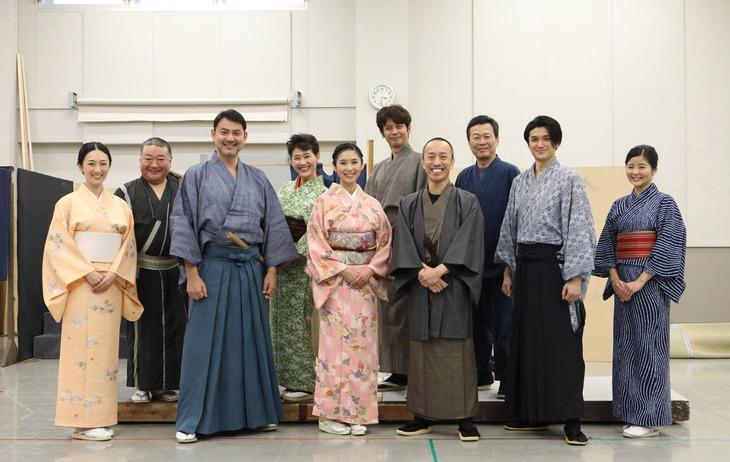 「京の螢火」公開稽古より。