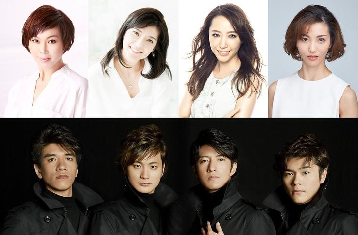 宝塚歌劇団OG×LE VELVETS スーパー・パフォーマンス「SHOW STOPPERS!!」ビジュアル