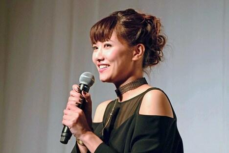 地球ゴージャスプロデュース公演Vol.15「ZEROTOPIA」製作発表より、宮澤佐江。