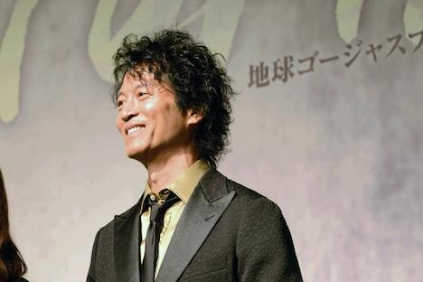 地球ゴージャスプロデュース公演Vol.15「ZEROTOPIA」製作発表より、寺脇康文。