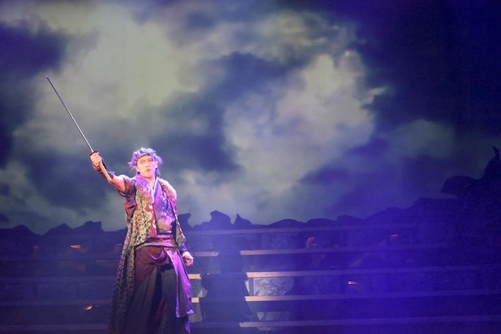 「『雷ヶ丘に雪が降る』~The Five God Chronicle・雷神編~」ゲネプロより。石渡真修演じる鳴神雷切。