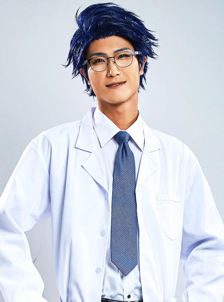 栗田学武演じる芥川博士。