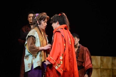 「ゆく年く・る年冬の陣 師走明治座時代劇祭」公開ゲネプロより。
