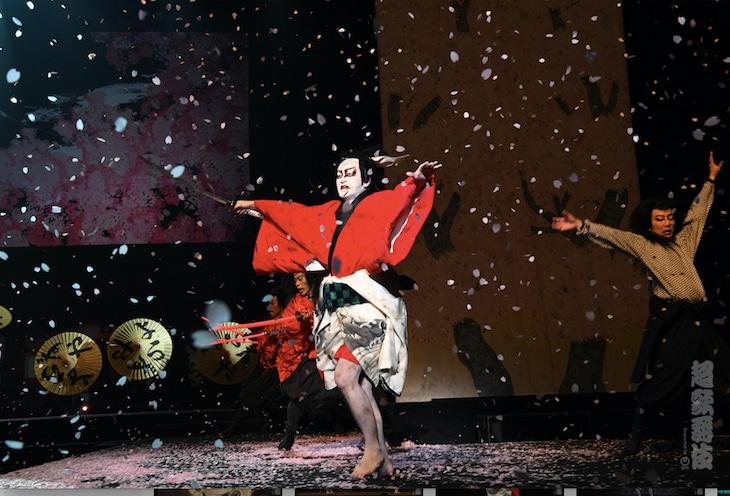 「超歌舞伎『花街詞合鏡(くるわことばあわせかがみ)』」より。