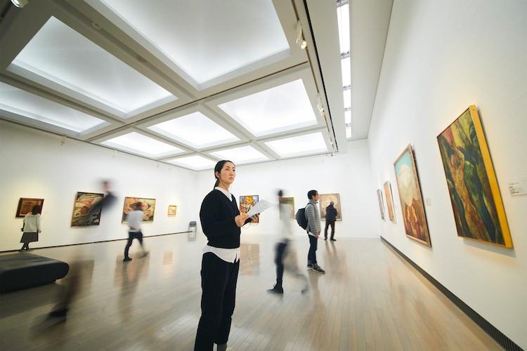 「きくたびプロジェクト 横浜美術館コレクション編」ビジュアル(写真:中島佑輔)