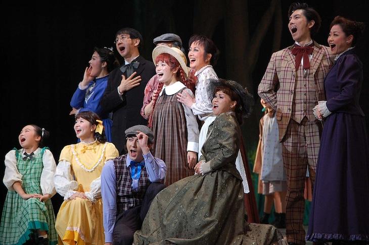 「2万人の鼓動 TOURSミュージカル『赤毛のアン』」前回公演より。
