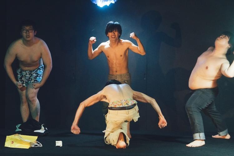 劇団女体盛り 第5回公演「『現代童話』~とくしゅこうさくいん 募集~」より。