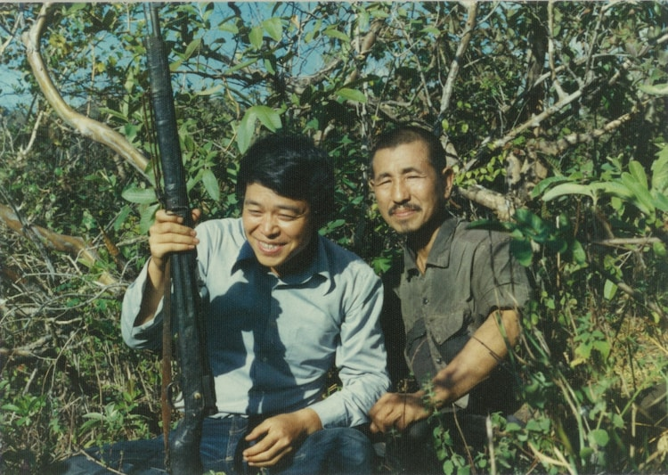 NHK BSプレミアム「小野田さんと、雪男を探した男~鈴木紀夫の冒険と死~」より。(写真提供:NHK)