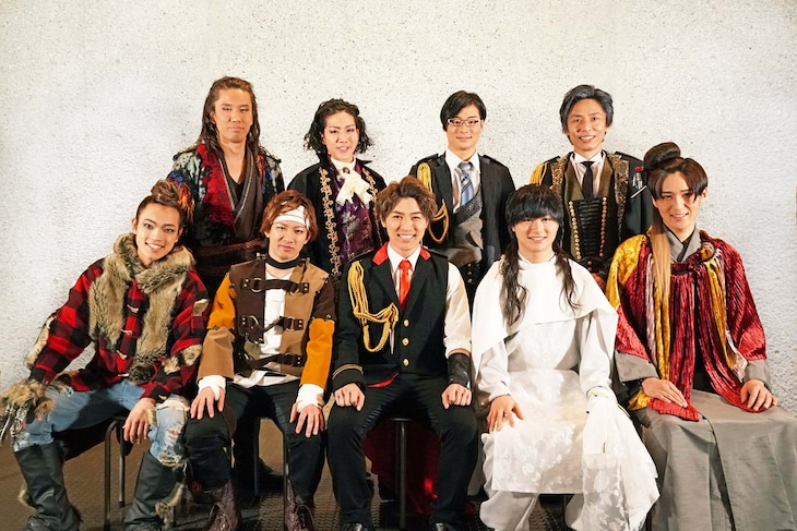 「30-DELUX NEW GENERATION THEATER featuring宇宙Six『スクアッド』」囲み取材より。