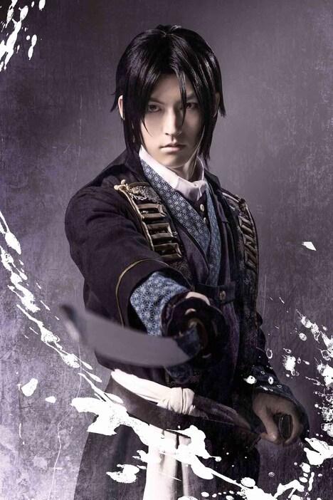 和田雅成演じる土方歳三の新ビジュアル。